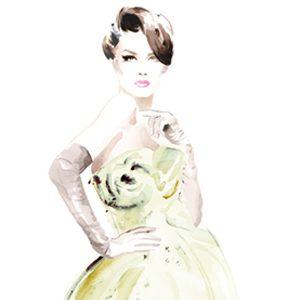 Modna ilustracija: Christian David Moore