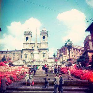 Trk na trg: Piazza di Spagna, Rim