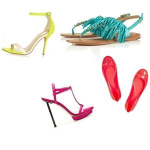 Cipele u neon bojama