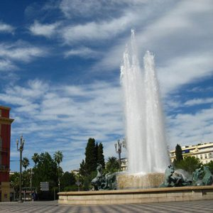 Trk na trg: Place Masséna, Nica