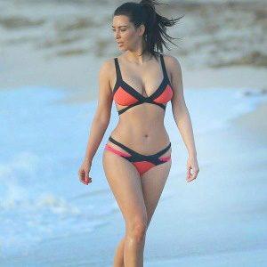 Bikini stil: Kim Kardashian