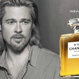 """Modni zalogaj: Brad Pitt za """"Chanel No.5"""""""