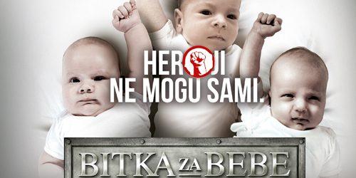 """""""Bitka za bebe"""": Najnagrađivanija kampanja iz Srbije"""