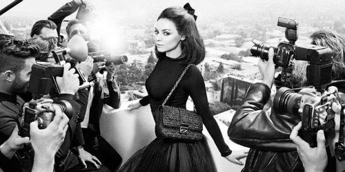 Miss Dior Handbags: Mila Kunis u centru pažnje
