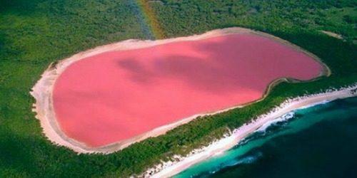 Jezero Hilijer: Nestvarno ružičasto