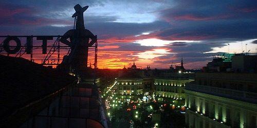 Trk na trg: Puerta del Sol, Madrid