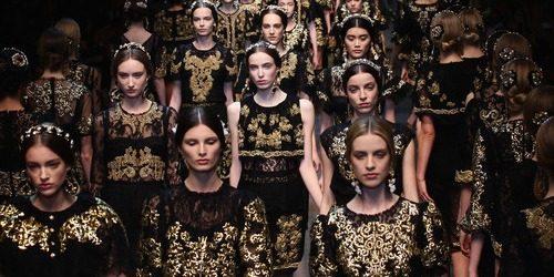 Jesen i zima na modnim pistama: Dolce&Gabbana