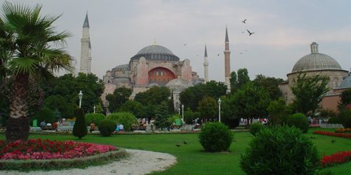 Trk na trg: Sultanahmet Meydanı, Istanbul