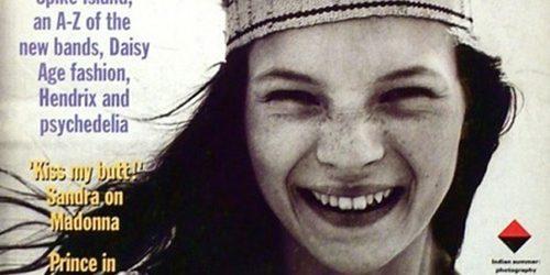 Moda na naslovnici: Prva naslovnica Kate Moss
