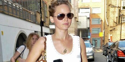 Street Style: Jennifer Lawrence