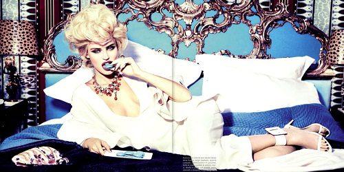 """Vogue Italia"": Bianca Balti u duhu starog Holivuda"