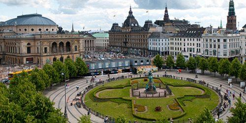 Trk na trg: Kongens Nytorv, Kopenhagen