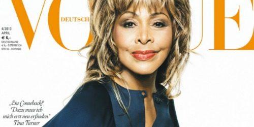 """Modni zalogaj: Tina Turner na naslovnici magazina """"Vogue"""""""