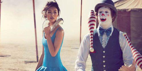 """""""Vogue Australia"""": Putovanje sa cirkusom"""