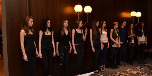33. Belgrade Fashion Week: Kasting (1. deo)
