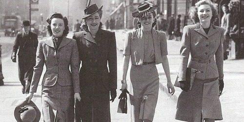 Istorija mode: 1940-1950.