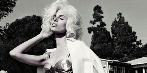 """Vogue Germany"": Prelepa Karolina Kurkova u stilu Marilyn Monroe"