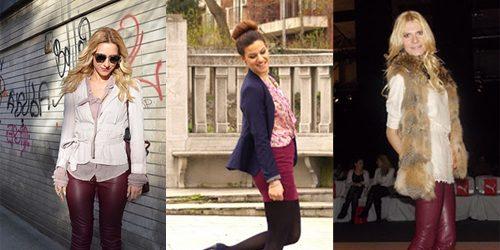 Šta domaće modne blogerke nose ovih dana: Koža i bež
