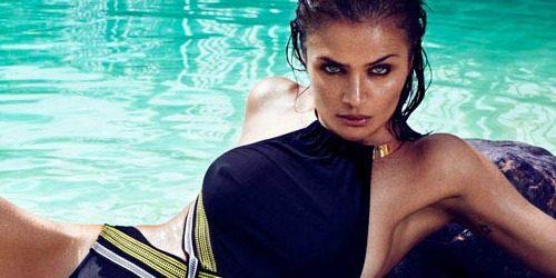 "Modni zalogaj: Neodoljiva Helena Christensen za ""Elle Spain"""