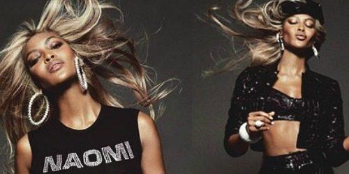 "Modni zalogaj: Naomi Campbell sa plavom kosom za ""Vogue"""