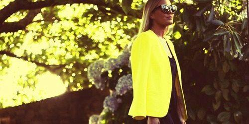 Modni saveti: Kako nositi žutu boju