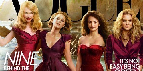 """Moda na naslovnici: Glamurozne dive iz filma """"Nine"""""""