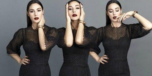 """Modni zalogaj: Monica Belucci u editorijalu časopisa """"S Moda"""""""