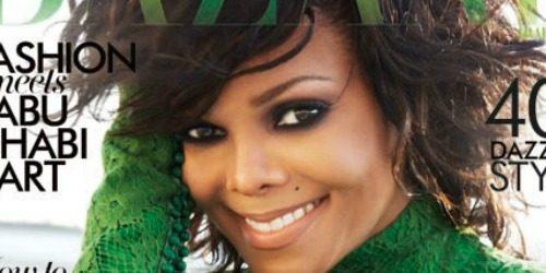 Moda na naslovnici: Janet Jackson boginja