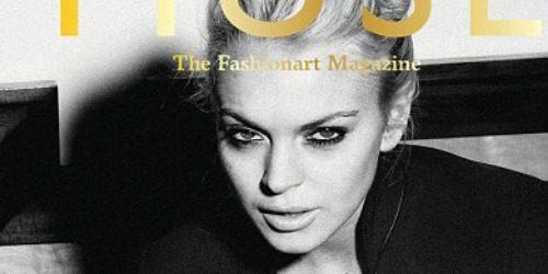 Moda na naslovnici: Lindsay Lohan interpretira Kate Moss