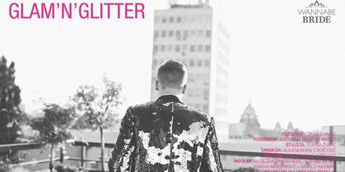 Wannabe Bride editorijal: Glam'n'Glitter