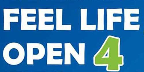 Feel life open 4