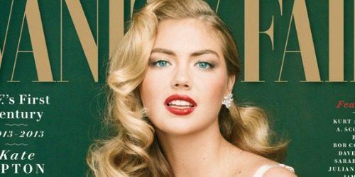 "Modni zalogaj: Kate Upton za stogodišnjicu časopisa ""Vanity Fair"""