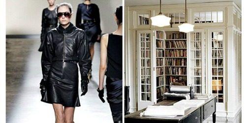 Kućni dekor inspirisan garderobom sa modne piste