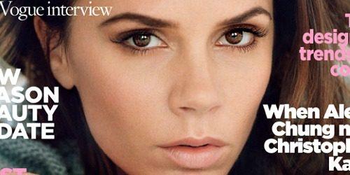 Moda na naslovnici: Nežna i prefinjena Victoria Beckham