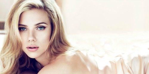 Beauty Look: Scarlett Johansson
