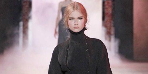 Jesen na modnim pistama: Ulyana Sergeenko