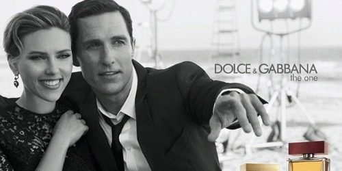 Fantastičan duo: Scarlett Johansson i Matthew McConaughey za Dolce & Gabbana