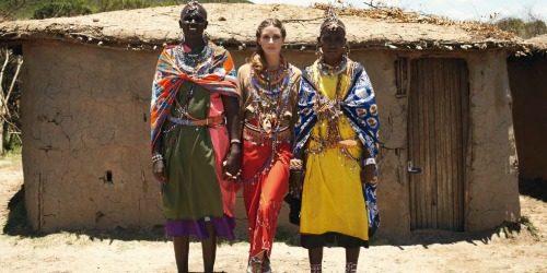 Humana Olivia Palermo posetila Keniju