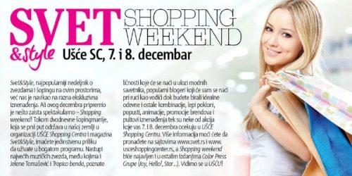 Svet&Style shopping weekend