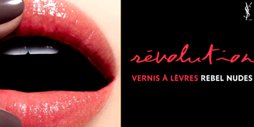 YSL: Vernis à lèvres rebel nudes