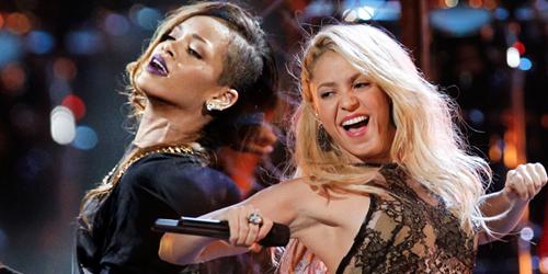 Kakav su to spoj Rihanna i Shakira?