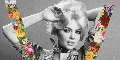 """Modni zalogaj: Kate Upton za časopis """"V"""""""