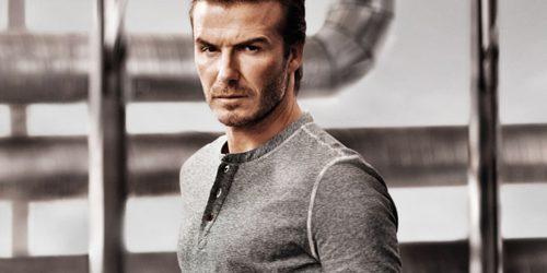 David Beckham: Do gole kože za H&M