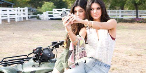 Sestre Kendal i Kajli Džener PacSun modeli za proleće 2014.