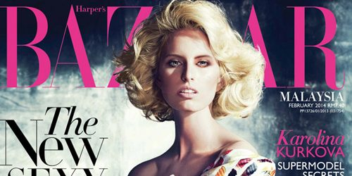 "Karolina Kurkova za ""Harper's Bazaar"": Plavokosi anđeo"
