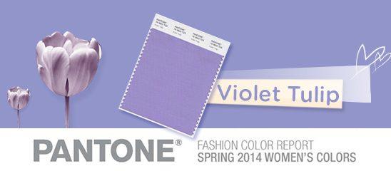 Fashion Color Report: Violet Tulip