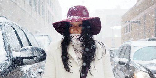 Moderne i na snežnoj mećavi