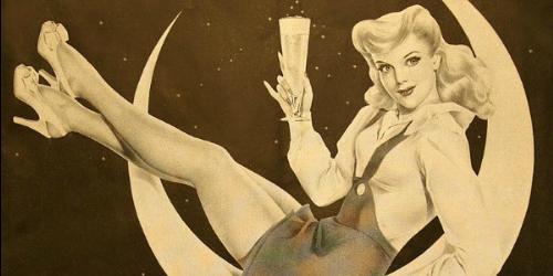 Vintage reklame za pivo sa ženama