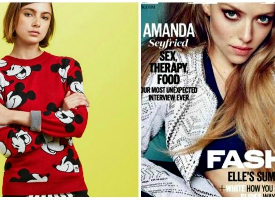 Modne vesti: Miki Maus i Amanda Sejfrid, dobitna kombinacija
