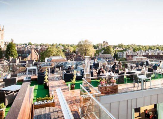 Vreme za predah: Barovi na krovu